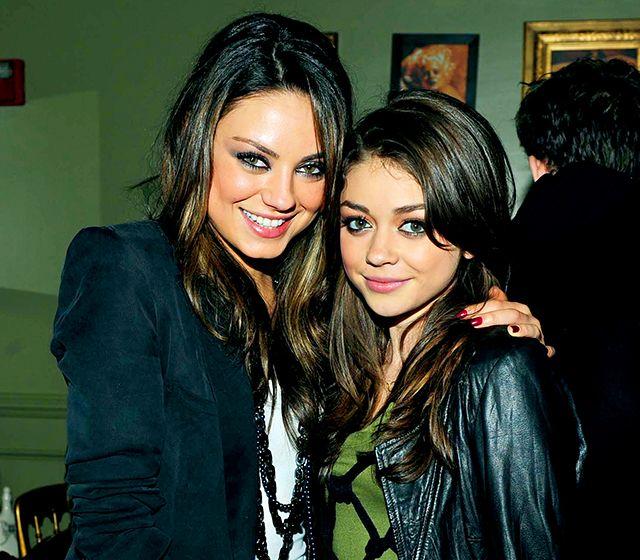 Mila Kunis and Sarah Hyland