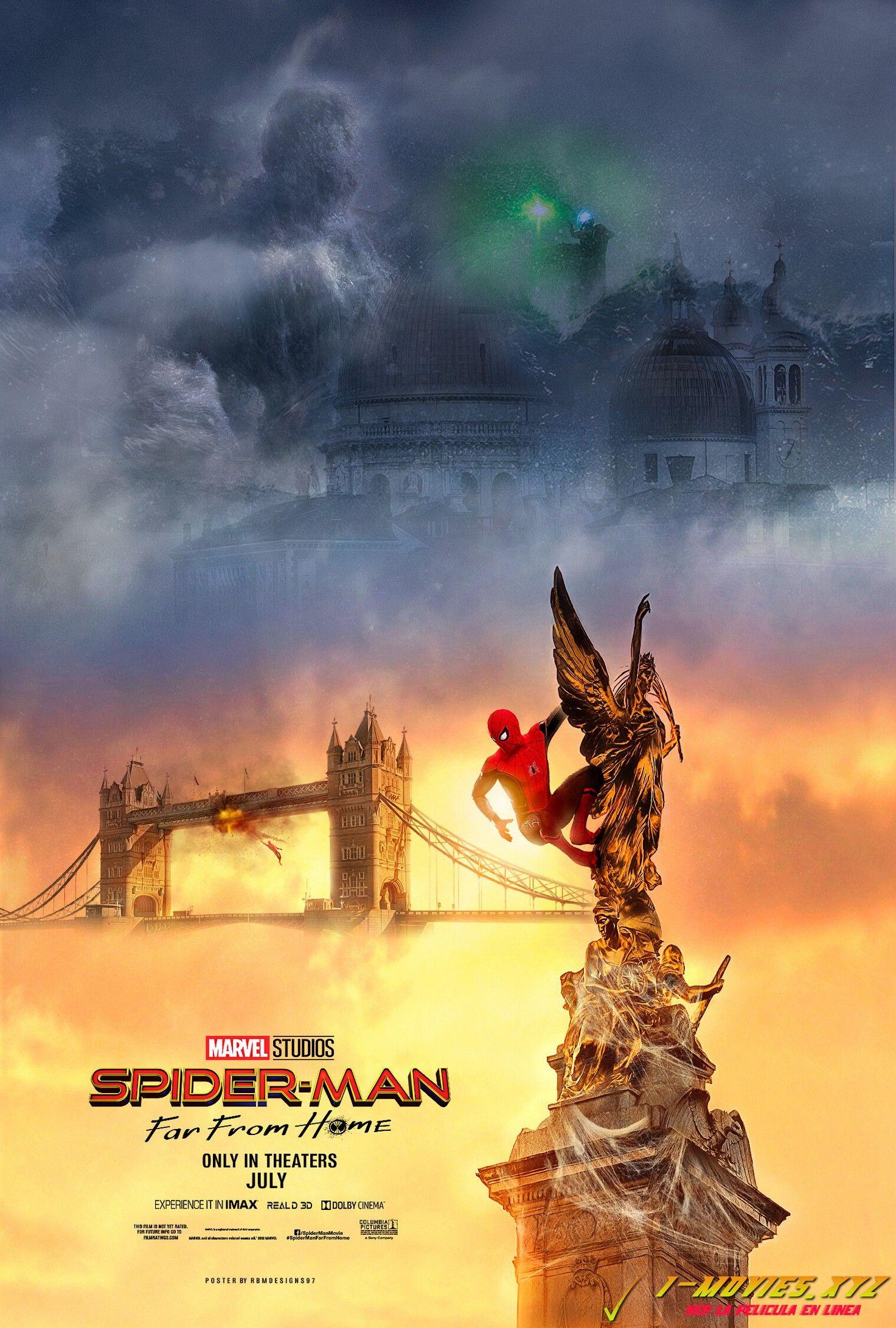 Ver Spider Man Lejos De Casa Pelicula Completa En Espanol Latino Hd Mega Spiderman Free Movies Online Full Movies Online Free