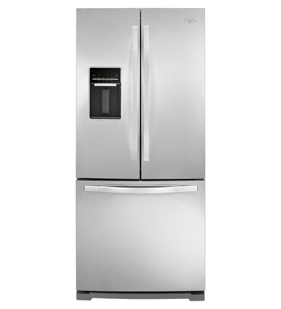 Whirlpool Wrf560seym 30 Inch French Door Refrigerator In