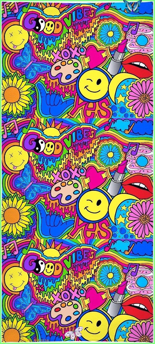 Wallpaper Iphone Hippie Vibes Towel wallpaperiphonequotes