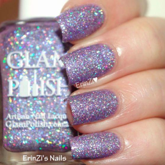 nail #polish #paint #violet #sparkle #fun | #NailPaints | Pinterest
