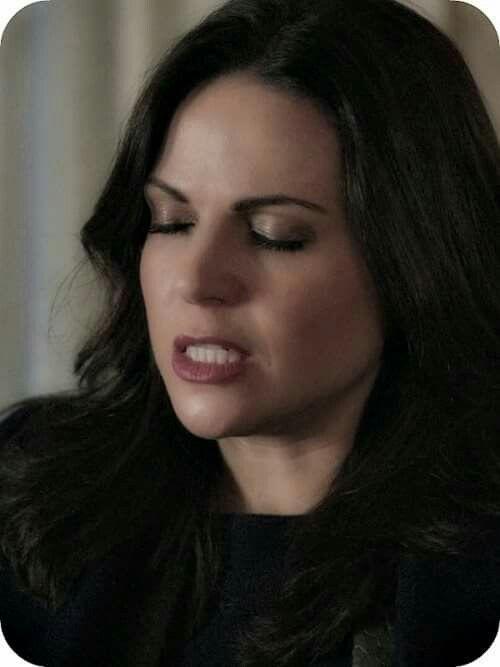 Regina fighting the urge to be sassy.(it's not working)