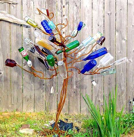 Bottle Tree From Bourbon U0026 Boots Love The Style Of This ! In The Vid On