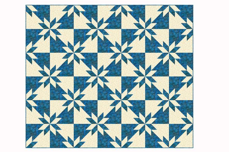 Taking The Mystery Out Of Hunter S Star Quilts Quilt