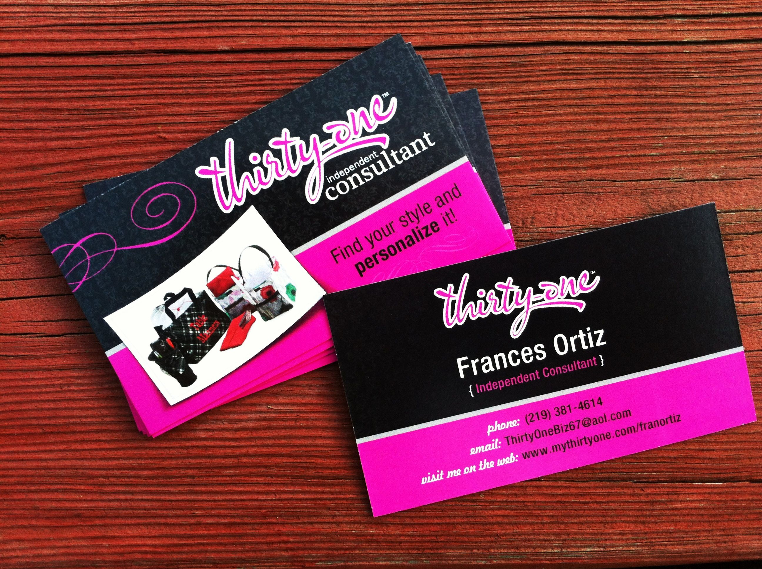 Thirty one business cards for independent consultant design print thirty one business cards for independent consultant design print full color on reheart Choice Image