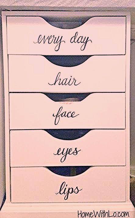 Photo of Makeup Vanity Organization Diy Make Up 60+ Ideas