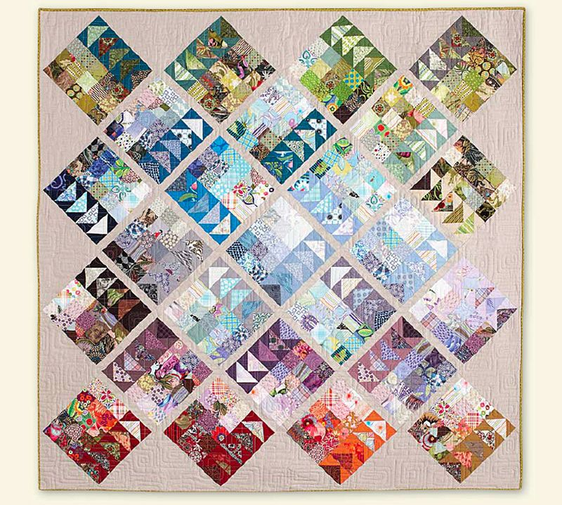 Quilting is more fun than Housework...: Dear Quilty : Geese Migration Quilt