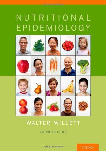 Nutritional Epidemiology (Monographs in Epidemiology and Biostatistics) by Walter Willett http://www.amazon.com/dp/0199754039/ref=cm_sw_r_pi_dp_ynd-vb0KAFZ53