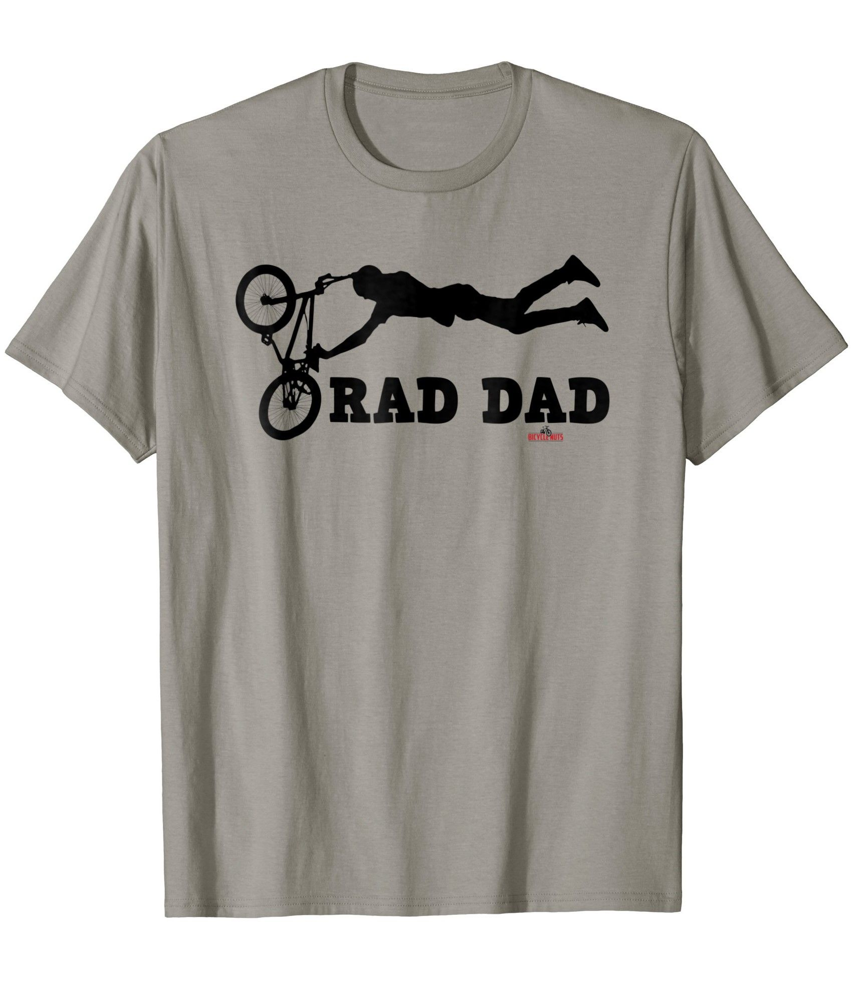 7fe015d75 Fathers Day Rad Dad BMX Bike T-shirt / Casual Bicycle Clothing / T Shirt  Graphic - BMX Trick / Theme - Cool Father Cycling / Ideal Gift Tee for  Cyclists