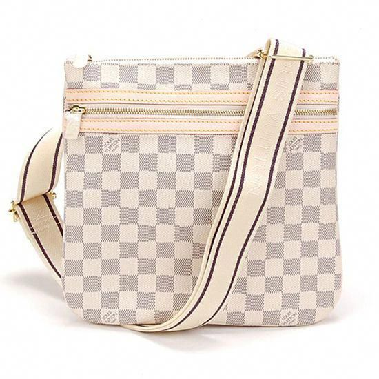 e20de735e51b Louis Vuitton N51112 Pochette Bosphore Crossbody Bag Damier Azur Canvas   Louisvuittonhandbags