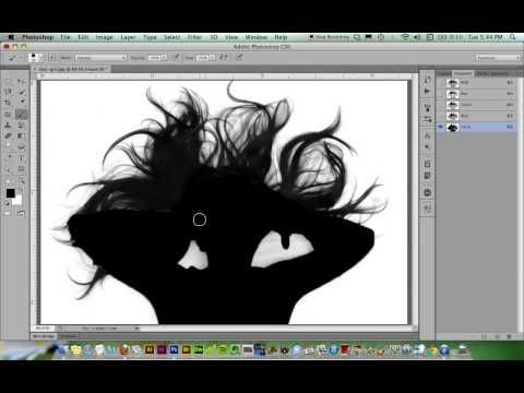 Channel Masks in Photoshop - YouTube