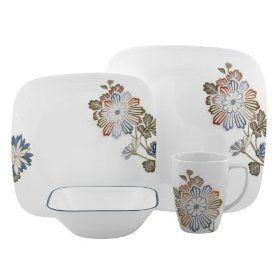 Cheap place to buy Corelle Square 16-Piece Dinnerware Set | Dixie ...