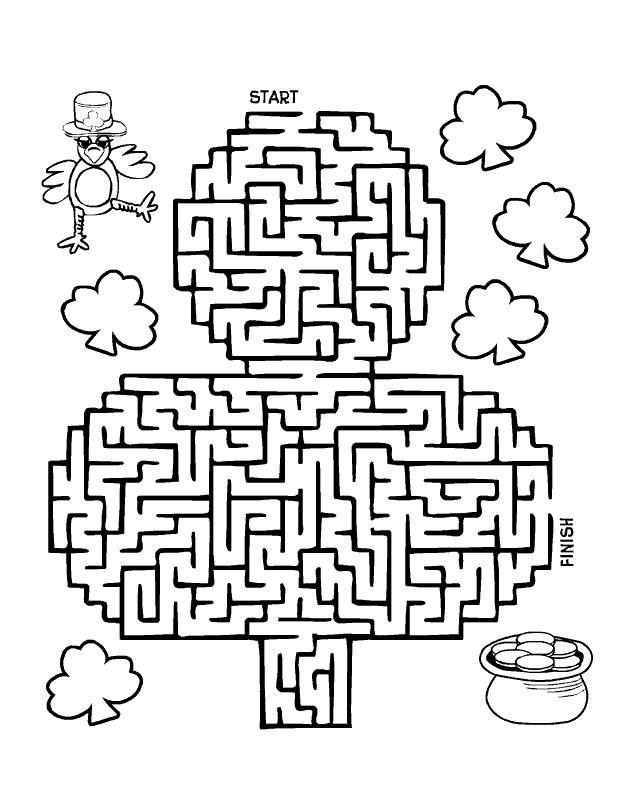 Jeu-St-Patrick-02.jpg (628×796) | Education | Pinterest | San ...