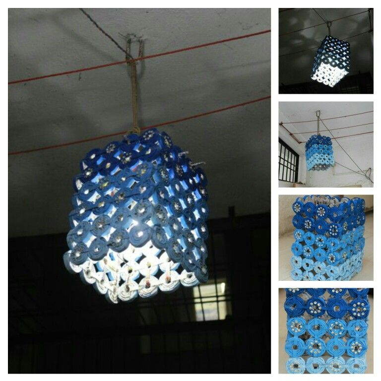 Diwali Lantern Made With Waste Newspapers MY CREATION D