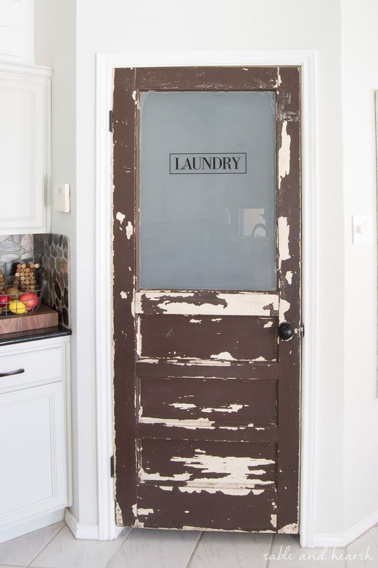 Diy Pantry In Laundry Room