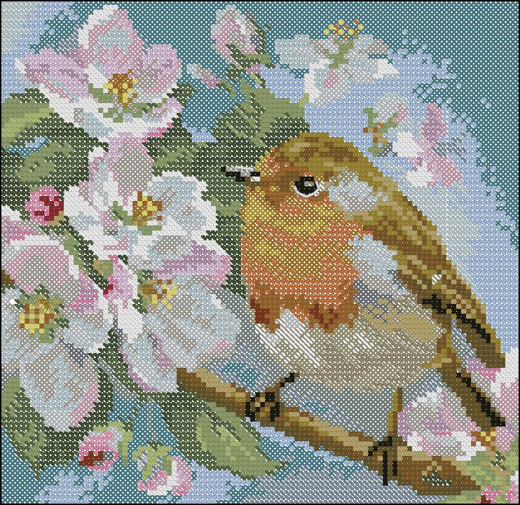 """""""Critters In Counted Cross Stitch"""" The pattern is included on my board... ~ ( 7) Gallery.ru / Фото #4 - Cervienka 1-20 - zuzas"""