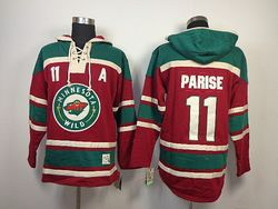 official photos 9a929 f9449 Online Shop Minnesota Wild 11 ZACH PARISE Jersey old time ...