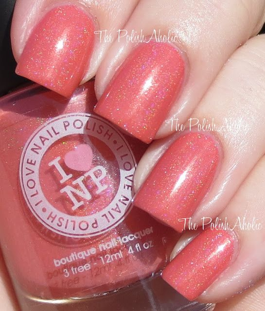 I Love Nail Polish Grande Sunset - Pretty | Pretty Posh Polish ...