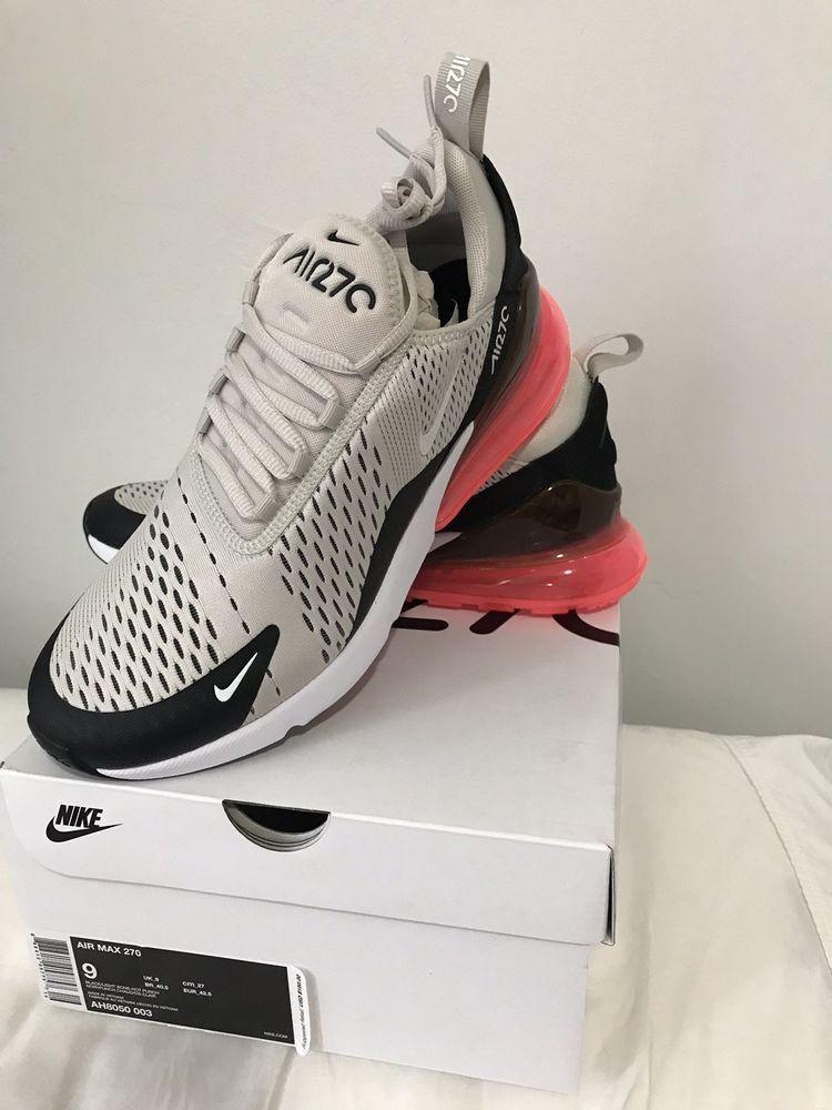 wholesale dealer 99416 54e80 Women Casual Shoes Light Bone Black-Pink AR0499-002 Nike WMNS Air Max 270 SE