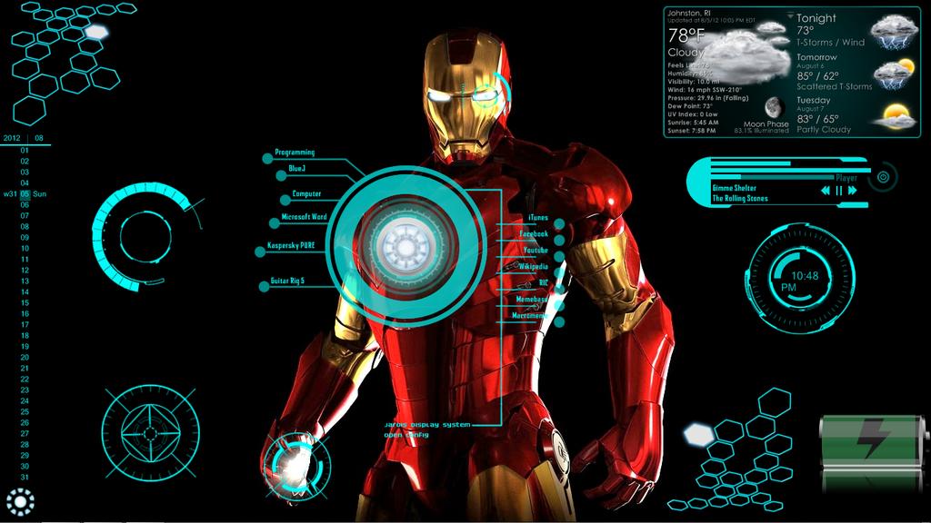Jarvis – Iron Man SKIN