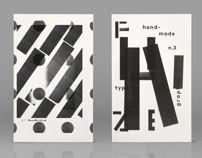 F U N Z I N E - Nº. 3 Typo-Graphic A to Z / musaworklab
