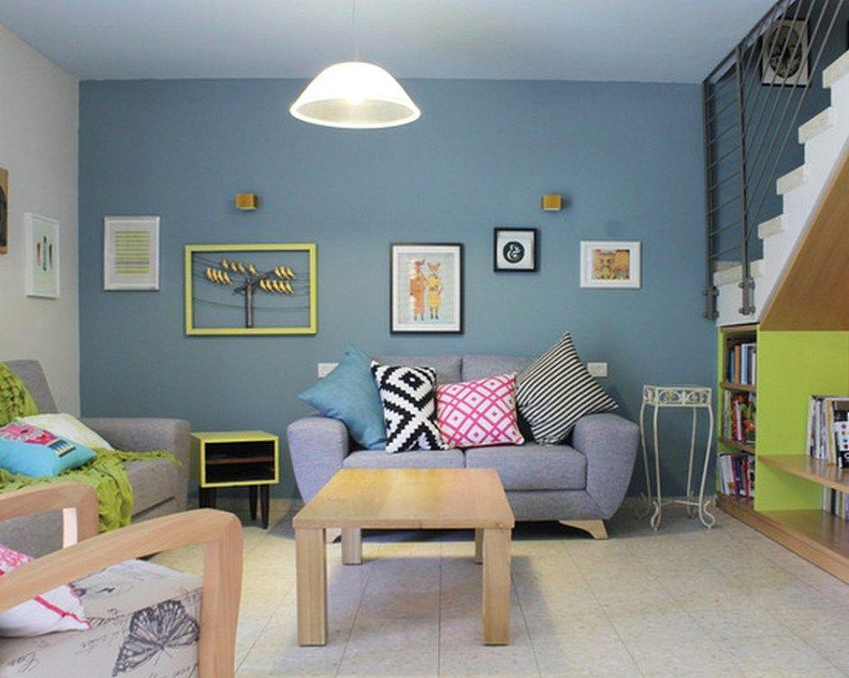 10 Warna Cat Ruang Tamu Sempit, Sulap Ruangan Jadi Terasa ...