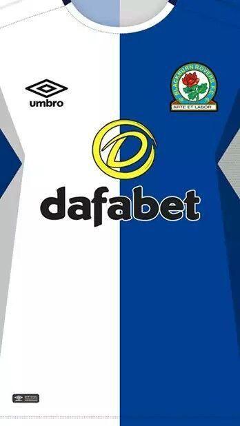 Blackburn Rovers Wallpaper Camisas De Futebol Uniformes Futebol Camisa De Futebol