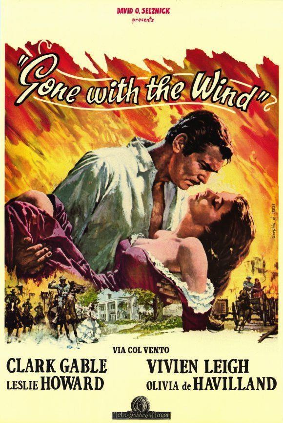Gone With The Wind Foreign 11x17 Movie Poster 1939 Wind Movie Gone With The Wind Old Movies