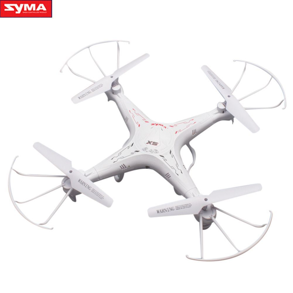 Syma X5 White Rc Quadcopter 2 4g Screw Model Profissional Drones Helicopter Rtf Remote Control Toys New Arrival Price 67 00 Quadcopter Drone Radio Control