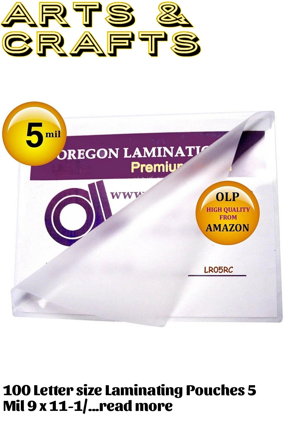 Letter Laminating Pouches 5 Mil 9 X 11 1 2 Hot Qty 100 In 2020 Lettering Letter Size The 100