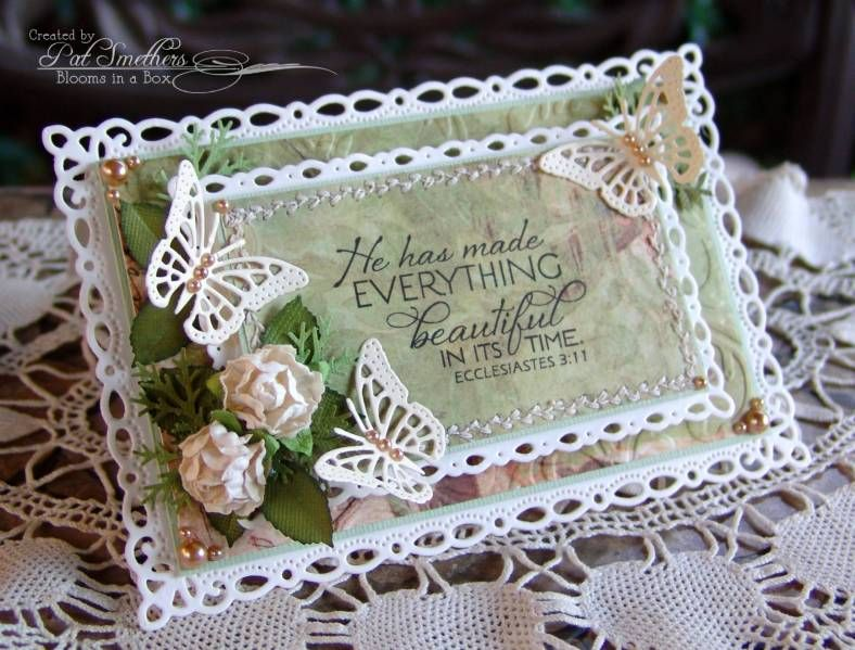 ~In His Time~ by Blooms in a Box - Cards and Paper Crafts at Splitcoaststampers