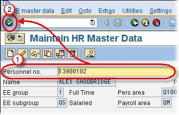 How to Copy an Infotype sap hr personnel administration