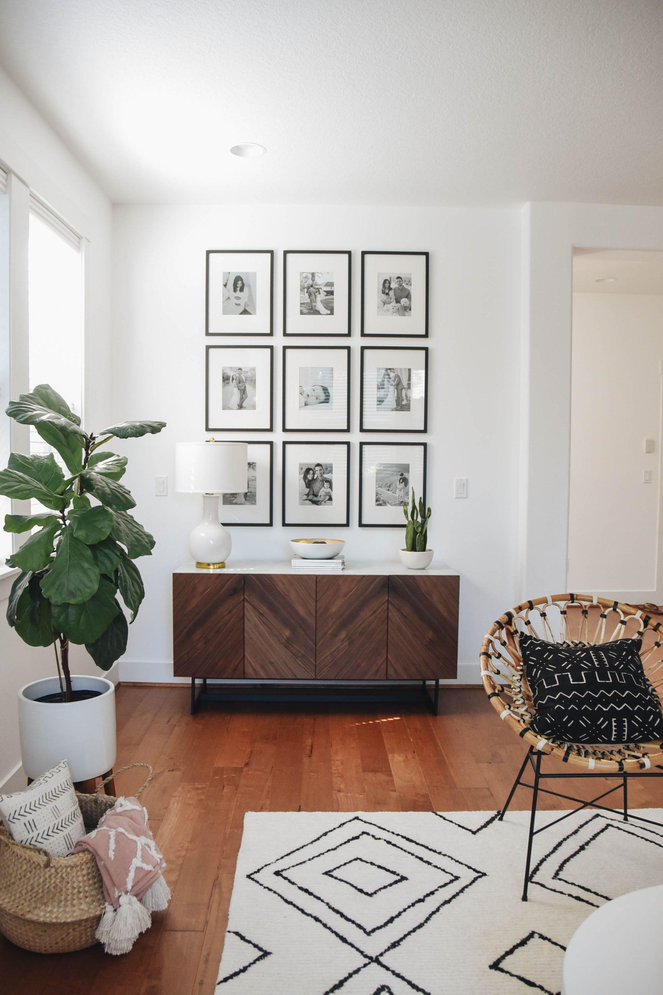 Living Room Reveal With Article Decoracion Hogar Decoracion De
