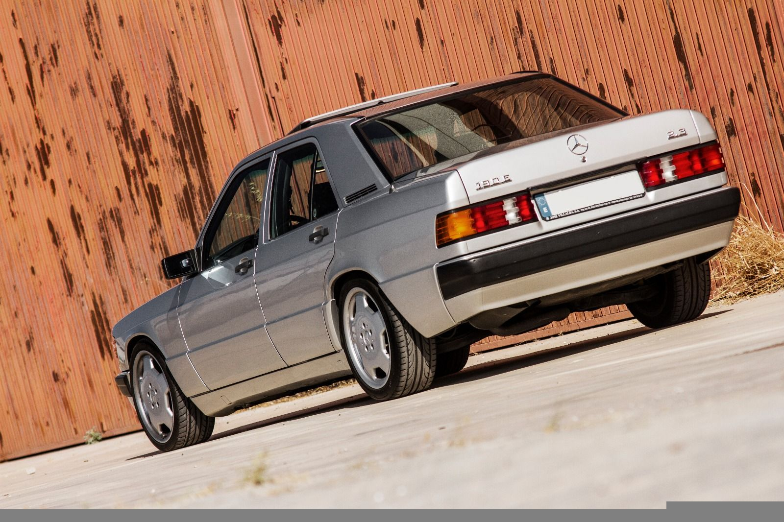 Mercedes Benz 190e 2 3 Amg Alcarrian Concept Ral 722 Monoblock 17 Power Engine E500 24v Breaks Bilstein Eibach Kit Rh Mercedes Benz Mercedes Super Autos
