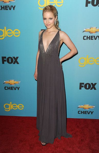 More Pics of Dianna Agron Evening Dress