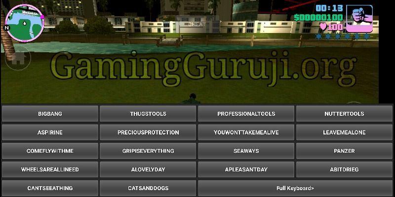 Gta Vice City Cheater Apk Code Screenshot In 2020 Grand Theft Auto Games Grand Theft Auto Grand Theft Auto Cheats