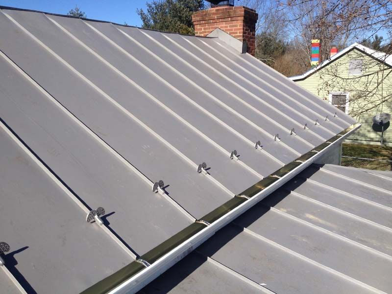 Cost For Metal Roof In 2020 Metal Roof Residential Metal Roofing Metal Roof Over Shingles