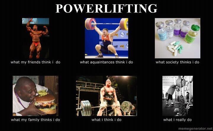 Powerlifting! True freakin story!!!