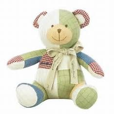 Printable Teddy Bear Pattern for Patchwork | Baby things