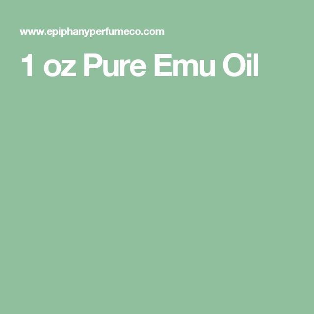 1 oz Pure Emu Oil