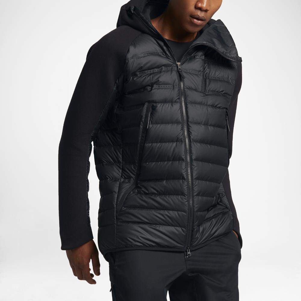 1cb56f4e50a3 Nike Sportswear Tech Fleece AeroLoft Men s Down Jacket Size 2XL (Black) - Clearance  Sale