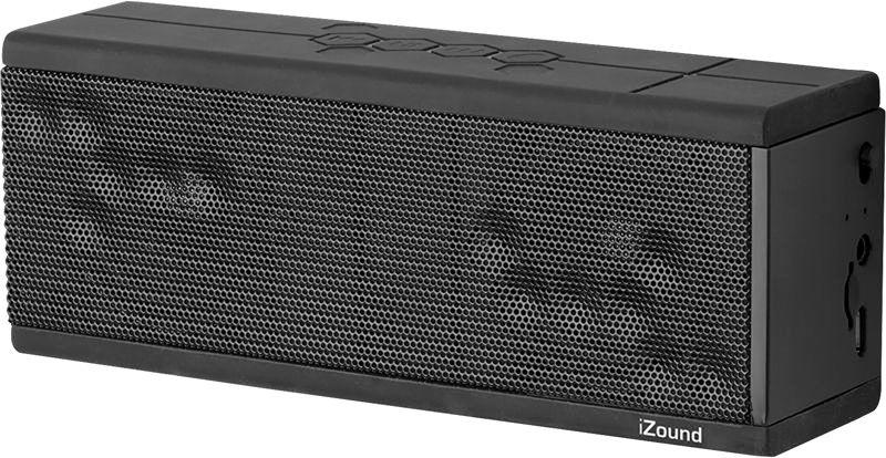iZound X-15 Bluetooth -kaiutin tuplaelementeillä, 22,99 €. Bluetooth-kaiutin tyylikkäällä ja pitävällä kumipinnoitteella. Värit punainen ja valkoinen.  Teknikmagasinet, E-taso