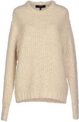 ISABEL MARANT Sweaters - Shop for women's Sweater - Ivory Sweater ...