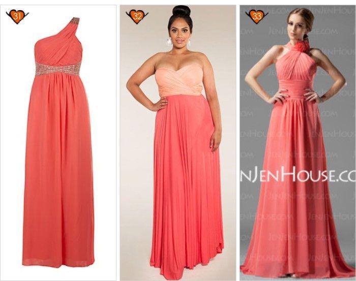 pasos hélice laberinto  vestidos dama de honor color coral - Buscar con Google | Vestidos de damas  de honor, Vestidos de dama, Vestidos