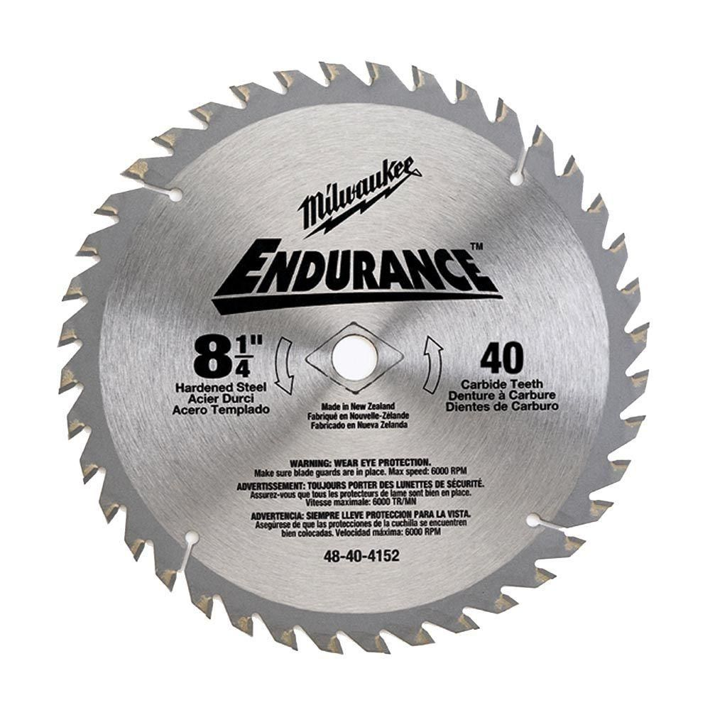 Milwaukee 10 In X 40 Teeth General Purpose Cutting Circular Saw Blade Products Circular Saw Blades Circular Saw Wood Cutting