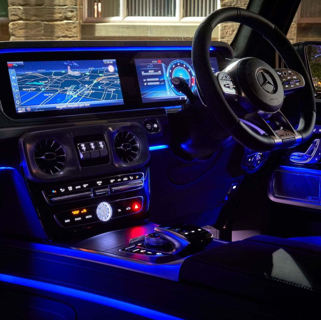 Mercedes Amg G63 Mercedesamg On Instagram Ambient Lighting In 64