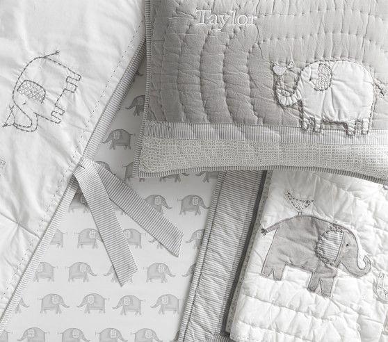 Taylor Elephant Baby Bedding