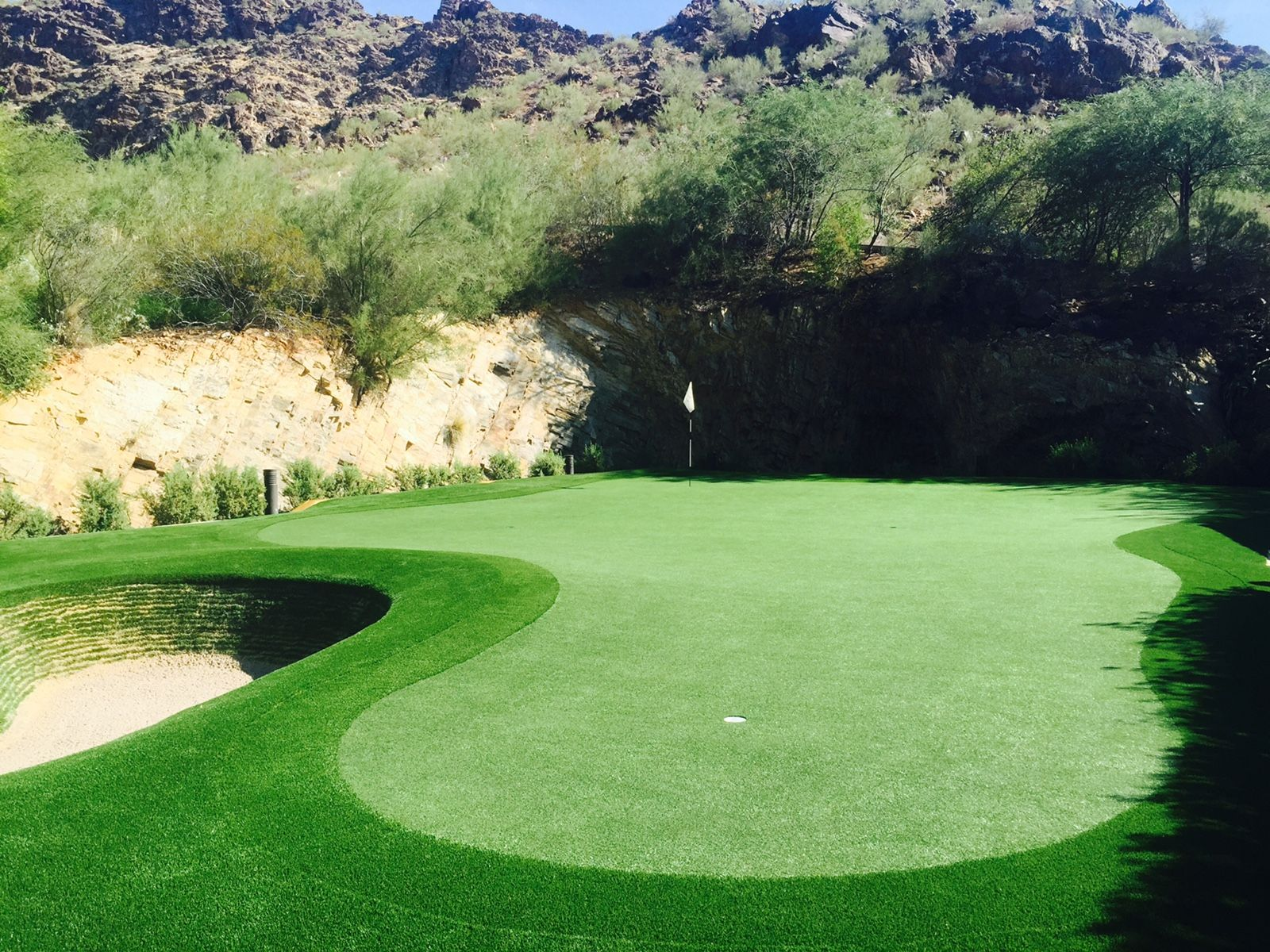 Imagine Your Very Own Backyard Golf Greens. We Make It Possible! Read More  At
