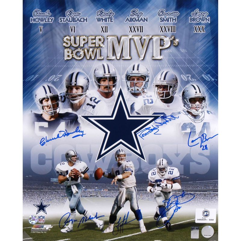 outlet store e7967 b2ac5 Dallas Cowboys Fanatics Authentic Autographed 16'' x 20 ...