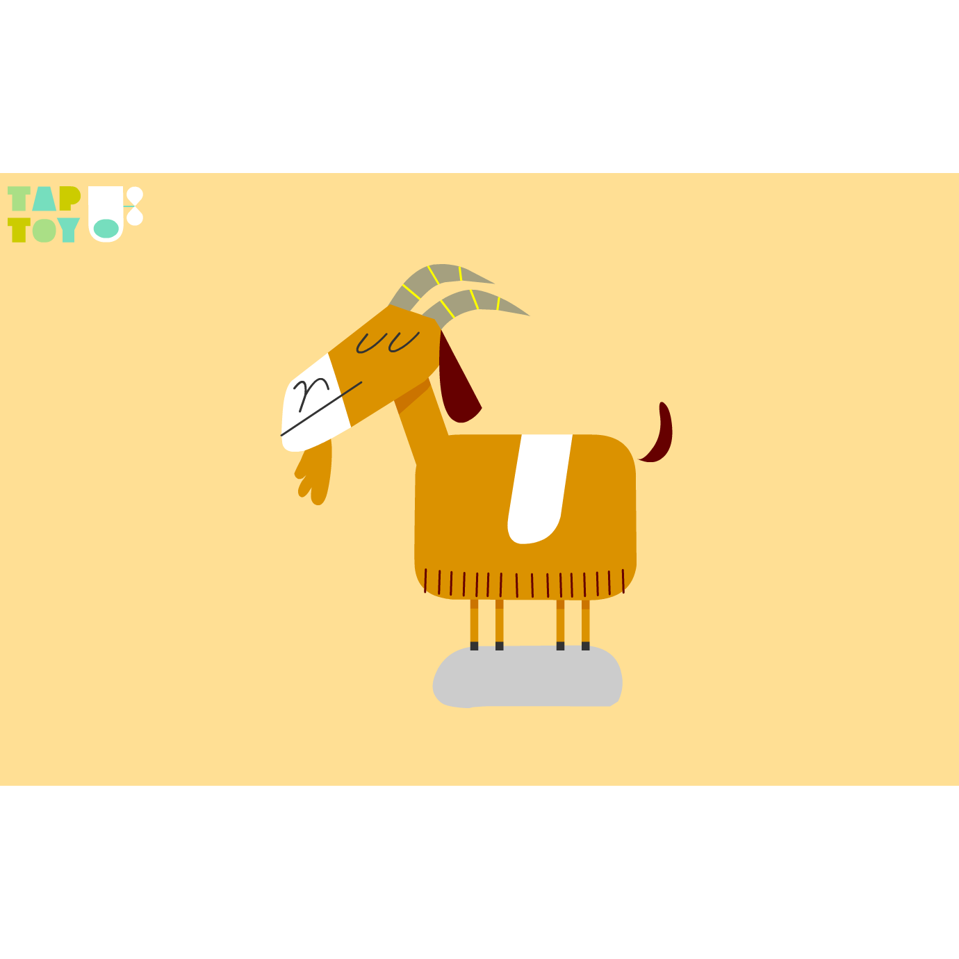 goat name the animals is a wonderful game for kids where they will